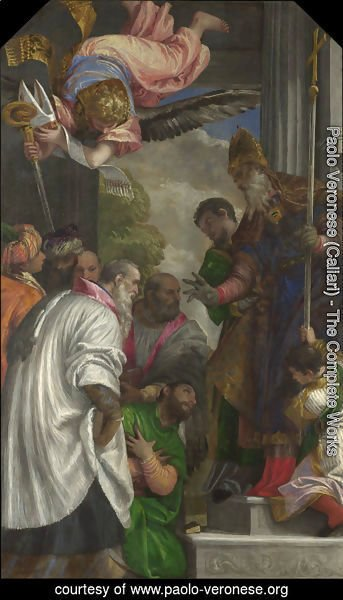 Paolo Veronese (Caliari) - The Consecration of Saint Nicholas of Myra
