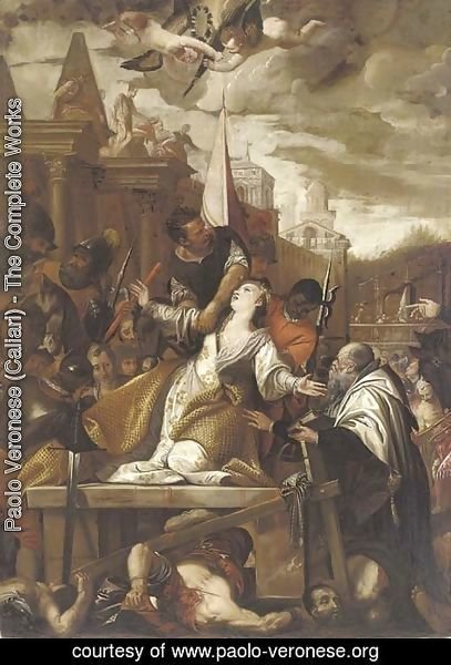 Paolo Veronese (Caliari) - The Martyrdom of Saint Afra