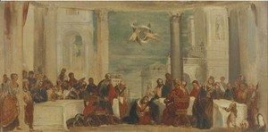 Paolo Veronese (Caliari) - The Supper in the House of Simon the Pharisee