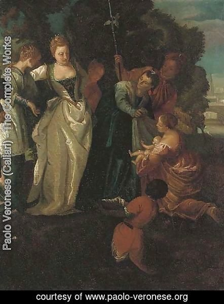 Paolo Veronese (Caliari) - The Finding of Moses 2