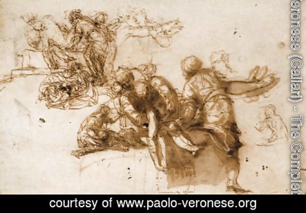Paolo Veronese (Caliari) - The Deposition