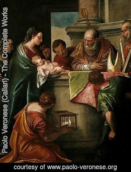 Paolo Veronese (Caliari) - The Presentation Of Christ In The Temple