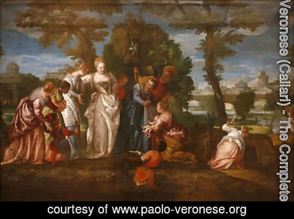 Paolo Veronese (Caliari) - The Finding of Moses 3