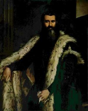 Paolo Veronese (Caliari) - Portrait of Daniele Barbaro 2