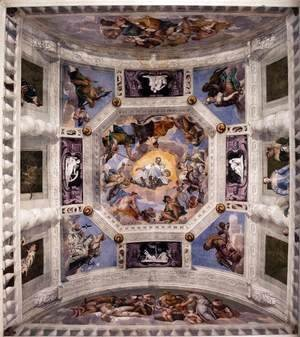 Paolo Veronese (Caliari) - Ceiling of the Sala dell'Olimpo