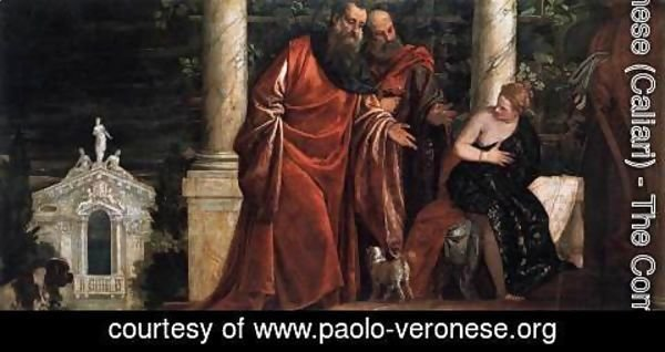 Paolo Veronese (Caliari) - Susanna and the Elders 2