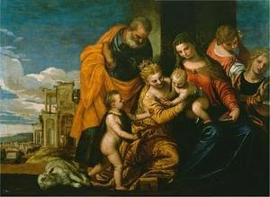 Paolo Veronese (Caliari) - The Marriage of Saint Catherine