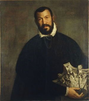 Paolo Veronese (Caliari) - Portrait of architect Vincenzo Scamozzi