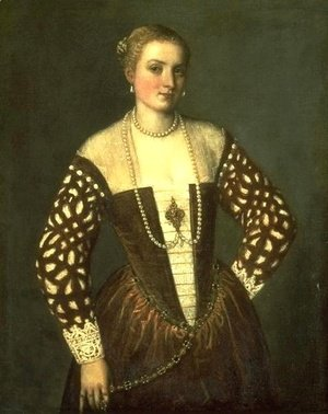Paolo Veronese (Caliari) - Portrait of a Lady