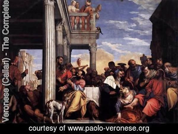 Paolo Veronese (Caliari) - Feast in the House of Simon