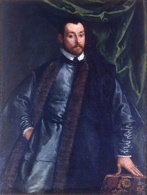 Paolo Veronese (Caliari) - Portrait of a Gentlemen