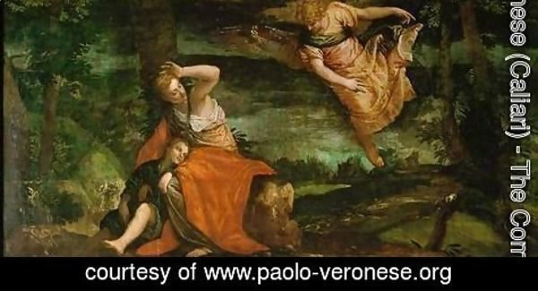 Paolo Veronese (Caliari) - The angel appears to Hagar in the desert