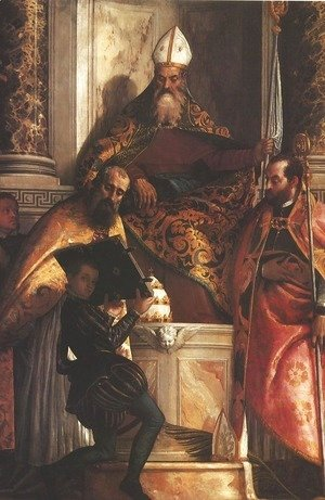 Saints Anthony, Cornelius and Cyprian (L santi Antonio, Cornelio e Cipriano)
