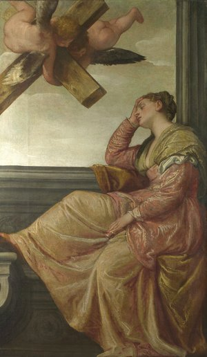 Paolo Veronese (Caliari) - St. Helena: Vision of the Cross (Sogno di sant'Elena)