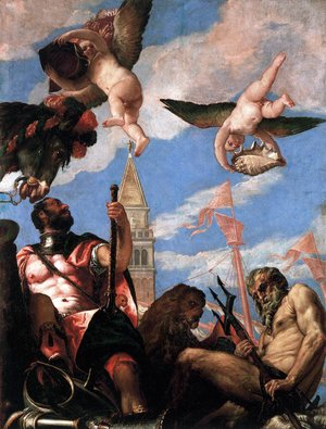 Paolo Veronese (Caliari) - Mars and Neptune